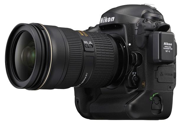 Nikon D4 med Wt-5