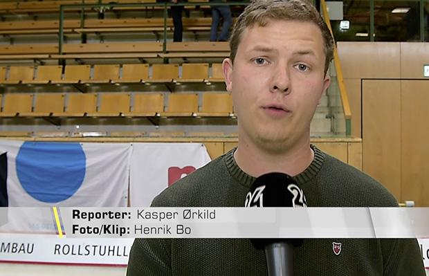 Screendump af tv indslag til 24NORDJYSKE. ©Foto: Henrik Bo
