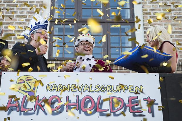 Troels Malling er årets karnevalskonge. Foto: ©Henrik Bo